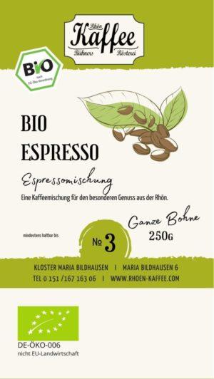 Espressomischung